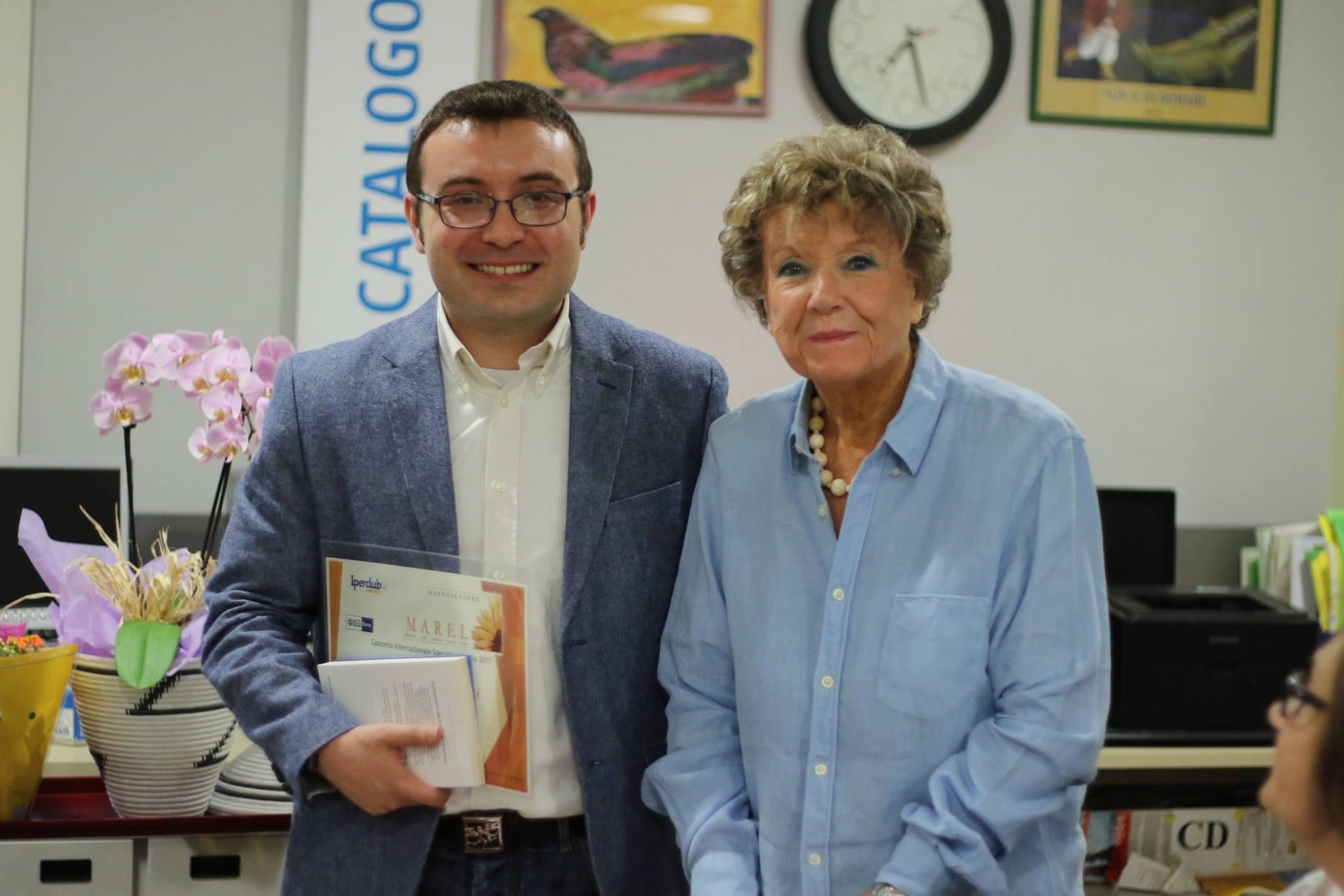 con Dacia Maraini