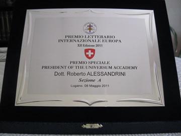 Premio letterario internazionale europeo